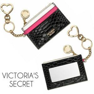 VS Card Holder Mirror Keychain Wallet
